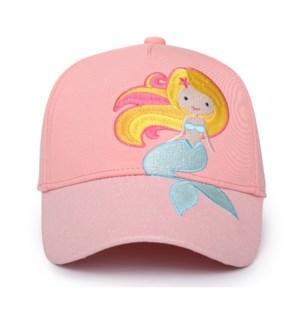 Kids UPF50+ Ball Cap - Mermaid Medium