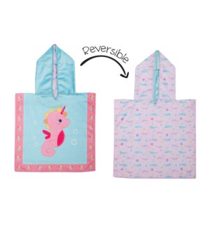 Baby UPF50+ Cover-Up - Seahorse/Narwhal