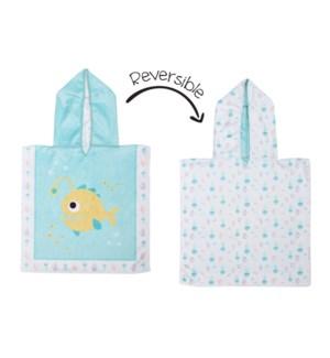 Baby UPF50+ Cover-Up - Fish/Jellyfish