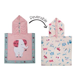 Baby UPF50+ Cover-Up - Elephant/Zoo