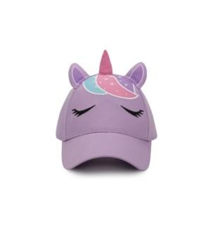 Kids UPF50+ 3D Cap - Unicorn