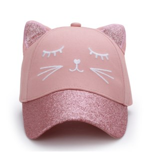 Kids UPF50+ 3D Cap - Cat