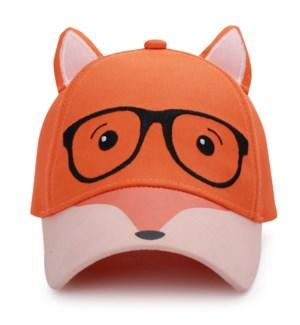 Kids UPF50+ 3D Cap - Fox