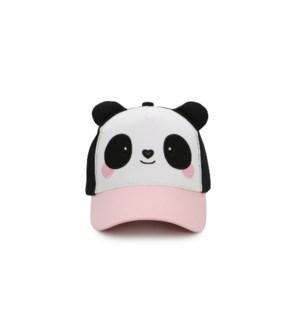 Kids' UPF50+ 3D Cap - Panda - Large