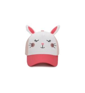 Kids' UPF50+ 3D Cap - Bunny - Large