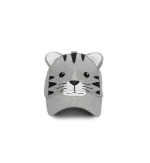 Kids' UPF50+ 3D Cap - Tiger - Large