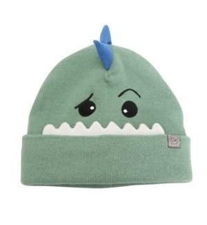 Knitted Toque Dino Med/Lrg