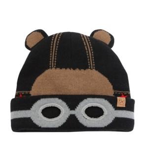 Knitted Toque Black Bear Med/Lrg