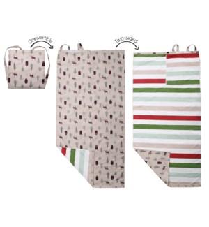 Towel Backpack - Moose/Black Bear