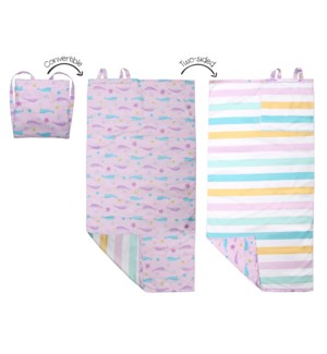 Towel Backpack - Narwhal/Starfish