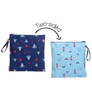 Wet Bag - Shark/Crab/Nautical