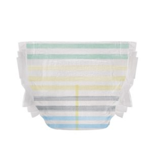 Honest Disposable Diaper - Classic Stripes SZ 3 16-28lbs