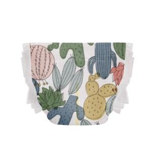 Honest Disposable Diaper - Cactus Cuties SZ 3 16-28lbs
