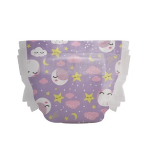 Honest Disposable Overnight Diaper - Starry Night SZ 3