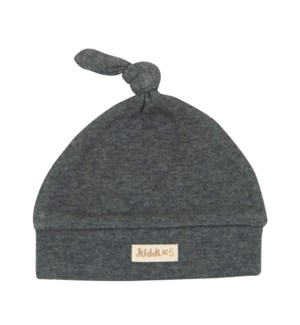 Hat - Charcoal Grey Fleck Newborn: 0-4mths