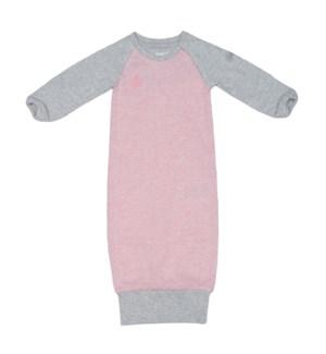 Raglan Organic Nightgown - Dogwood Pink