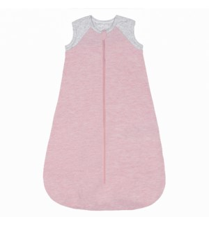 Organic Raglan Dream Sleep Sack 1Tog - Dogwood Pink 0-6mths