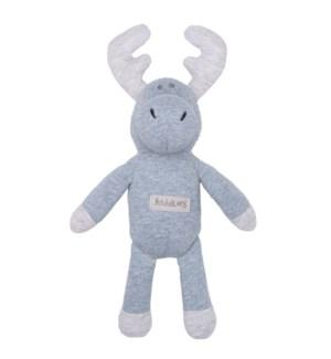 Organic Raglan - Rattle - Denim Blue Moose