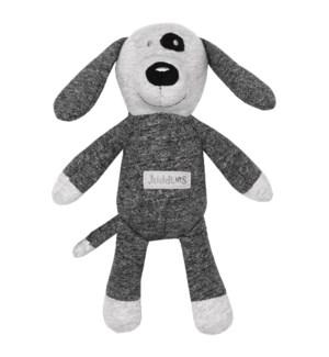 Organic Raglan - Rattle - Graphite Black Dog