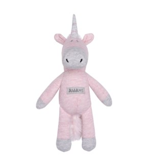 Organic Raglan - Rattle - Dogwood Pink Unicorn