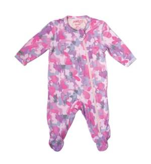 Camoose - Sleeper - Pink Newborn