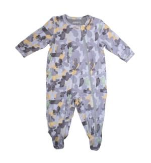 Camoose - Sleeper - Grey Newborn