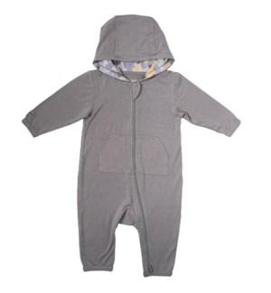 Camoose - Jumpsuit - Grey Newborn