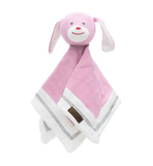 Organic Cottage Collection Lovey Rabbit- Sunset Pink