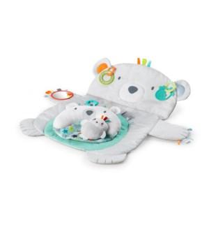 Tummy Time Prop & Play - Grey Bear