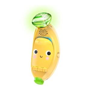 Bright Starts - Babblin' Banana™ Ring & Sing Activity Toy