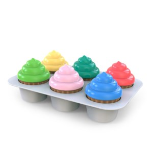 Bright Starts - Sort & Sweet Cupcakes™ Shape Sorting Activity Toy