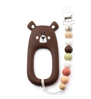 Bear Clip - Brown