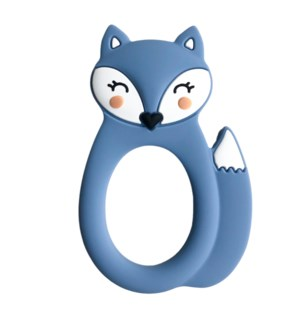 Fox Teether - Blue