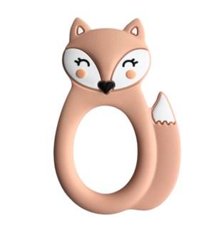 Fox Teether - Peach