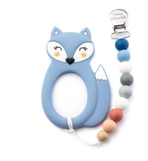 Fox Clip - Blue