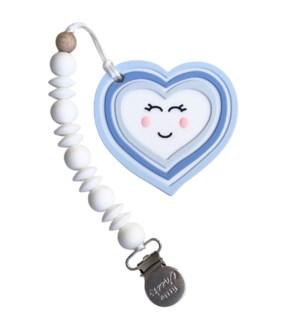 Heart Clip - Blue