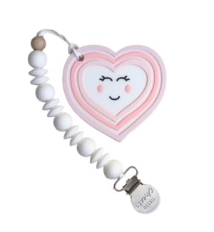 Heart Clip - Pink