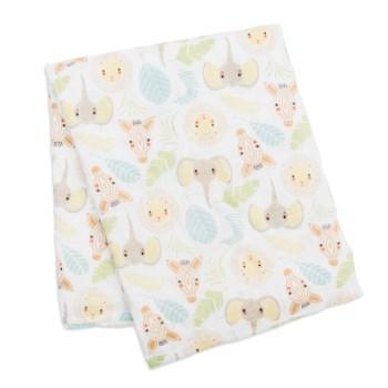 Swaddle Blanket Muslin Cotton - Jungle