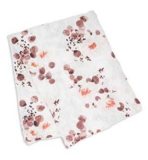 Swaddle Blanket Bamboo Cotton - Eucalyptus
