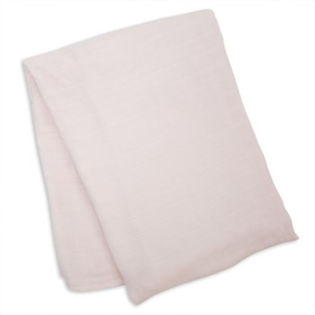 Swaddle Blanket Bamboo Cotton - Pink