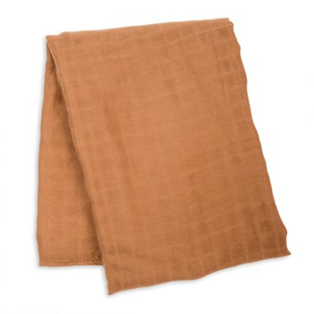 Swaddle Blanket Bamboo Cotton - Tan