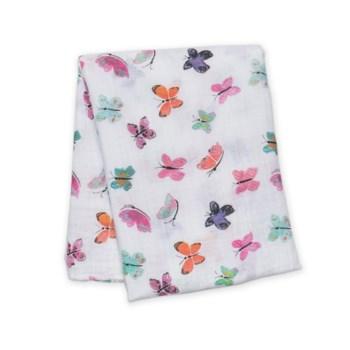 Cotton Muslin Swaddle - Butterfly