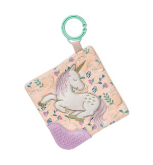"""Twilight Baby Unicorn Crinkle Teether - 6"""""""