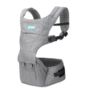 2IN1 Carrier & Hipseat - Grey