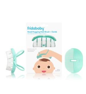 Baby Head-Hugging Hairbrush + Styling Comb Set