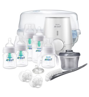 Anti-Colic Bottles  with AirFree Vent Bottle All-in-One Gift Set