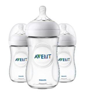 Natural Baby Bottles 9oz 3pk 9oz