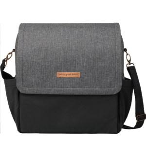 Boxy Backpack: Graphite/Black