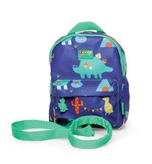 Mini Backpack with Rein - Dino Rock ENG ONLY