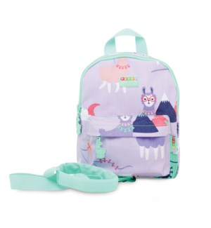 Mini Backpack with Rein - Loopy Llama ENG ONLY
